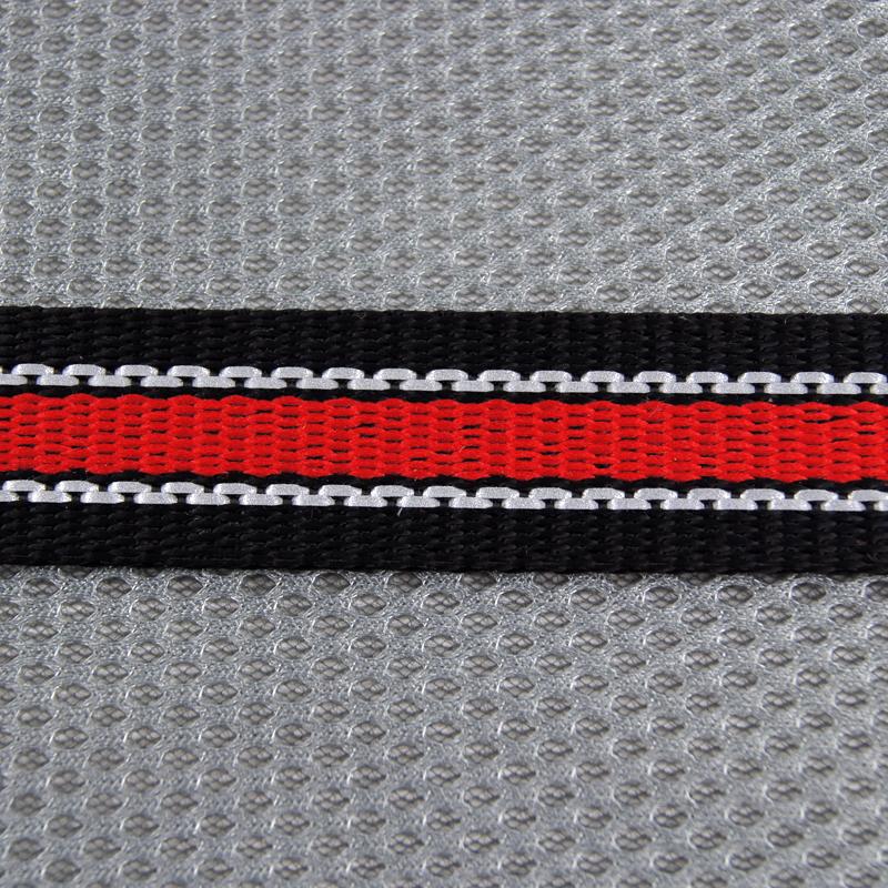Röd/silver